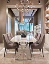 Elegant Modern Dining Table Design Ideas 20