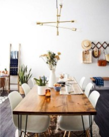 Elegant Modern Dining Table Design Ideas 26