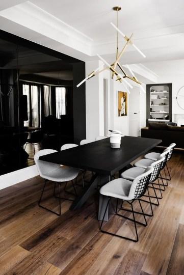 Elegant Modern Dining Table Design Ideas 31