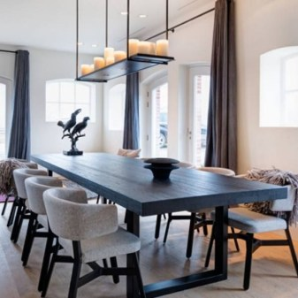 Elegant Modern Dining Table Design Ideas 43