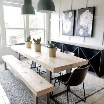 Elegant Modern Dining Table Design Ideas 44