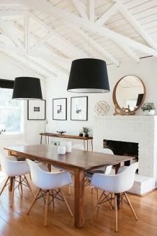 Elegant Modern Dining Table Design Ideas 46