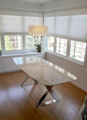 Elegant Modern Dining Table Design Ideas 48