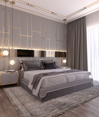 Gorgeous Modern Bedroom Decor Ideas 07