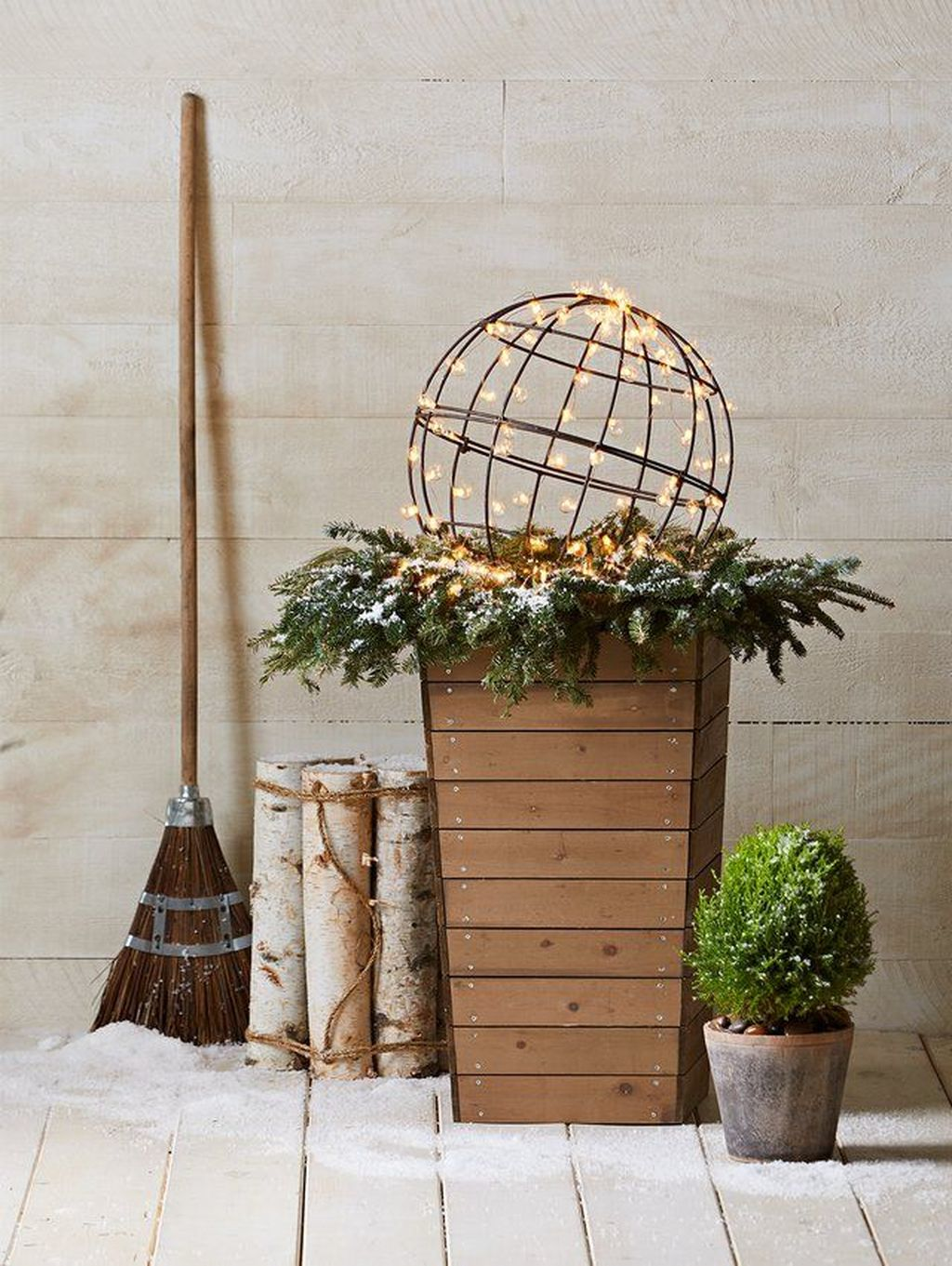 Popular Outdoor Decor Ideas For This Winter 08