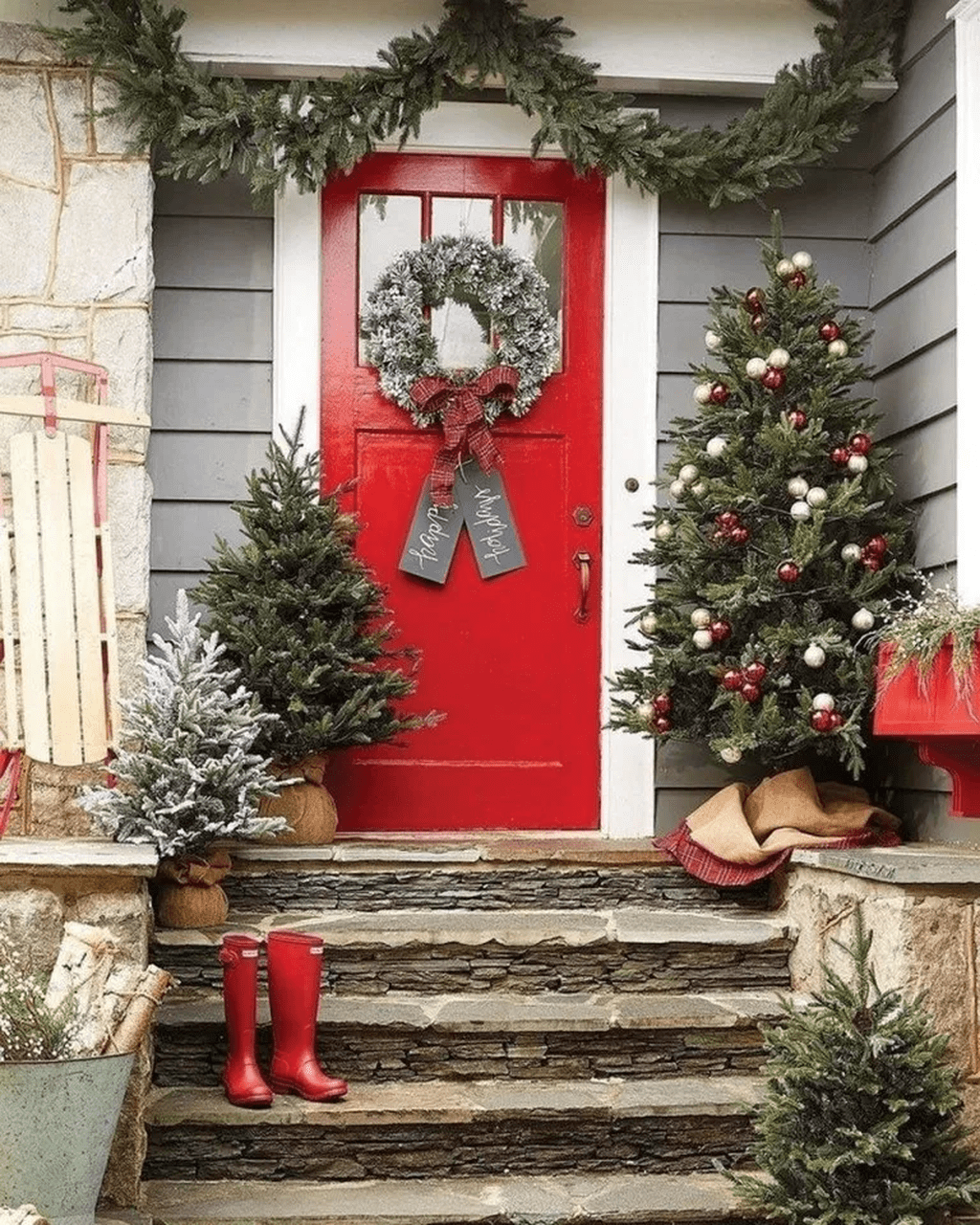 Popular Outdoor Decor Ideas For This Winter 25
