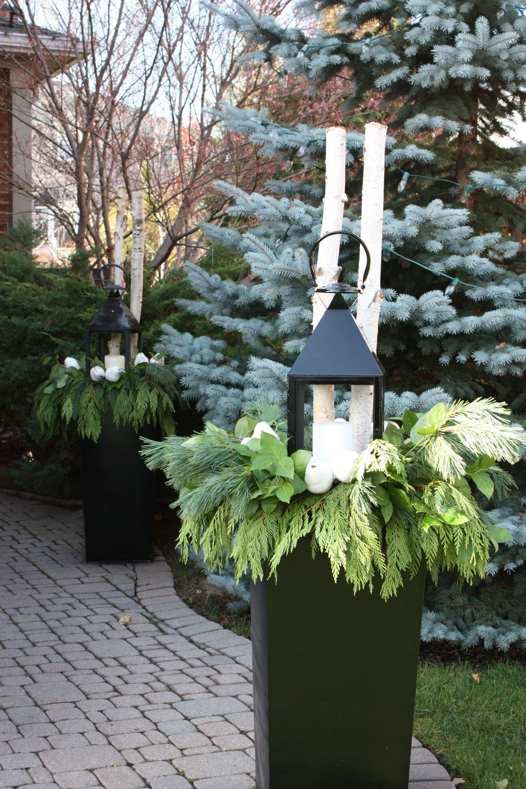 Popular Outdoor Decor Ideas For This Winter 29