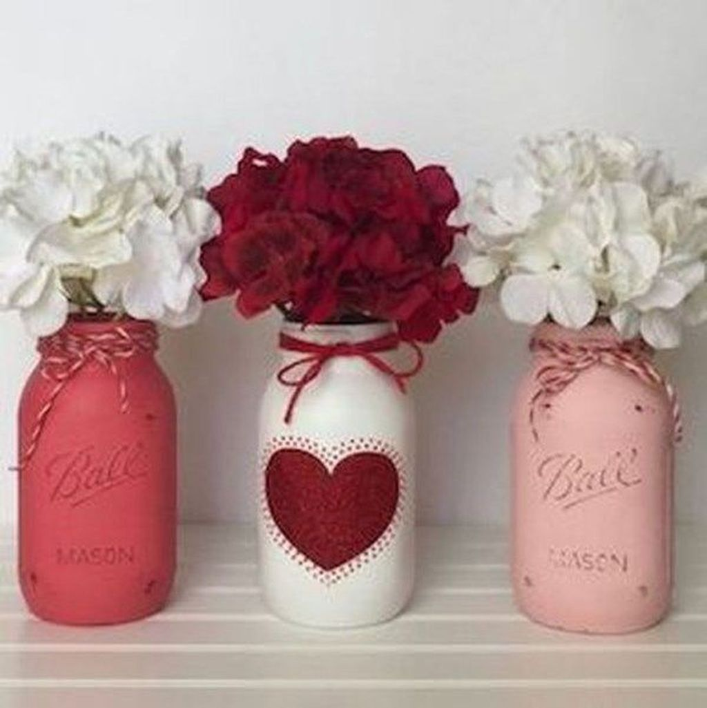 Inspiring Valentine Crafts Ideas For Your Home Decor 44