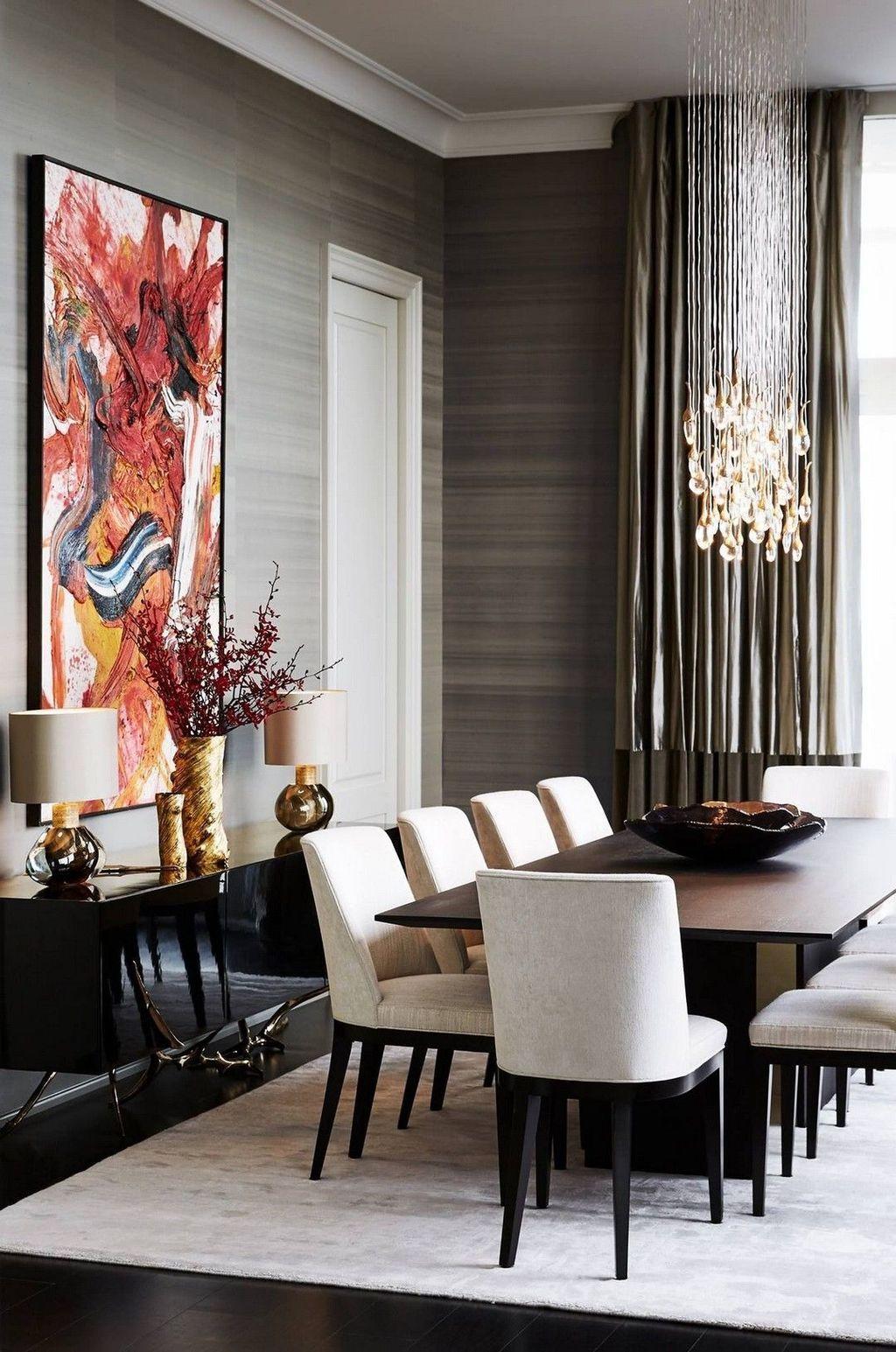 Popular Contemporary Dining Room Design Ideas 03