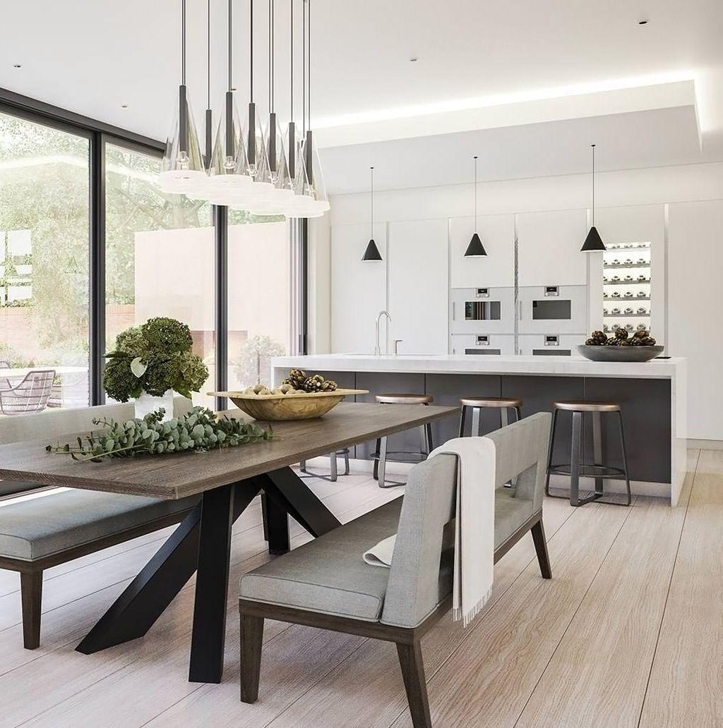 Popular Contemporary Dining Room Design Ideas 18
