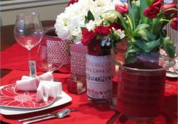 Stunning Valentine Table Centerpiece Ideas 35