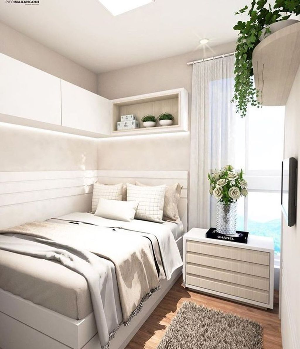 Admirable Small Bedroom Decor Ideas You Never Seen Before 22