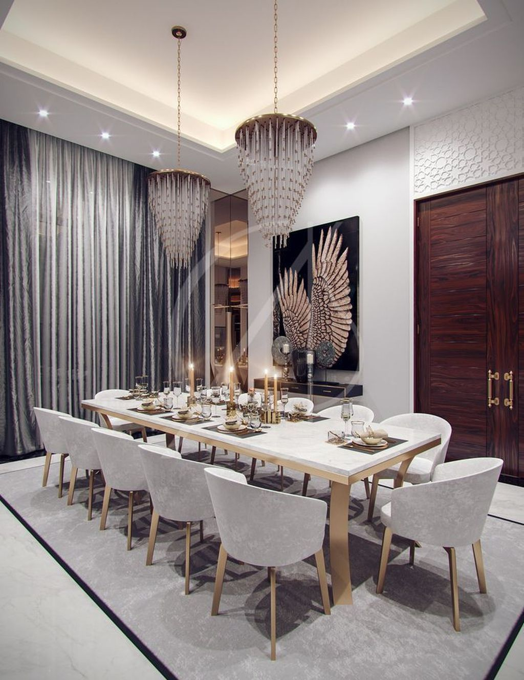 Amazing Modern Dining Room Design Ideas You Will Love 01