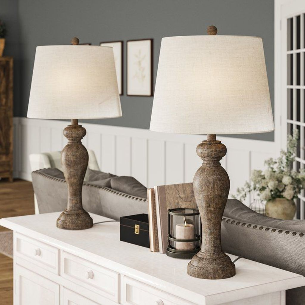 Awesome Living Room Lamps Design Ideas 15
