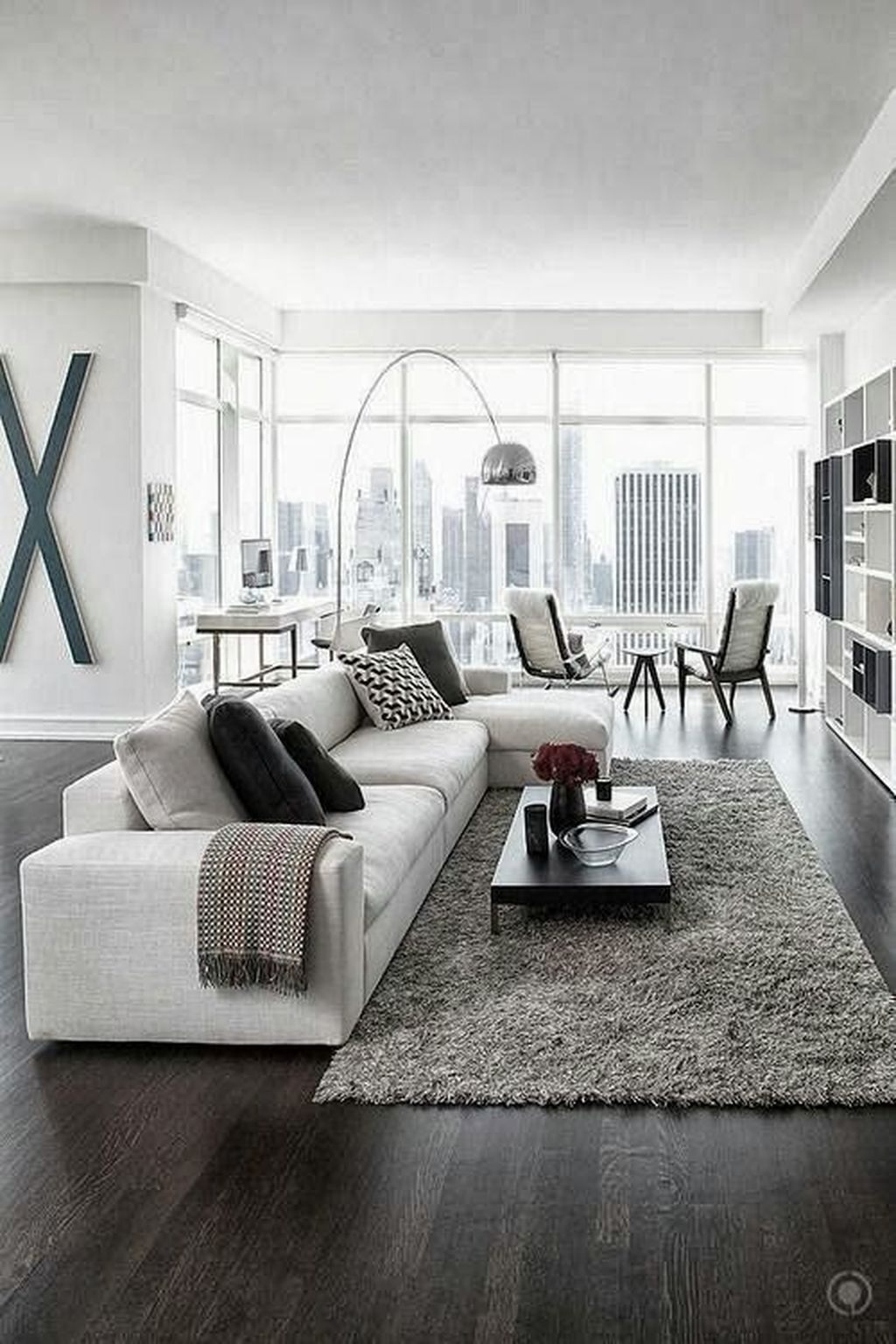 Awesome Minimalist Contemporary Living Room Decor Ideas 05