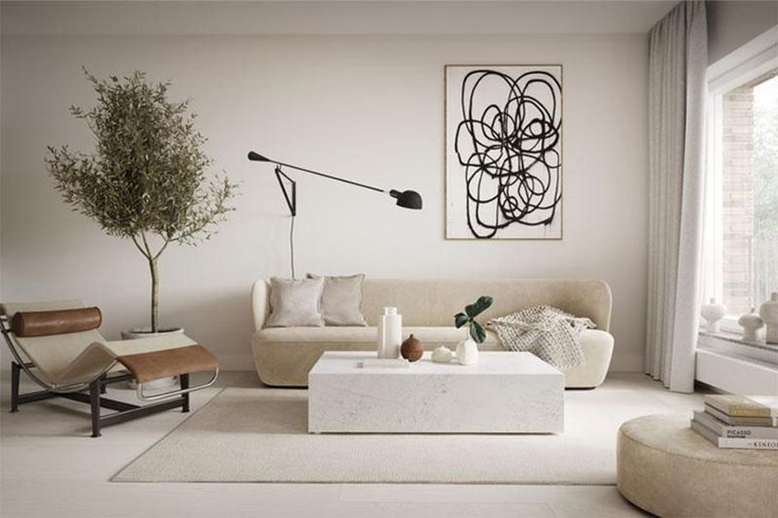 Awesome Minimalist Contemporary Living Room Decor Ideas 17
