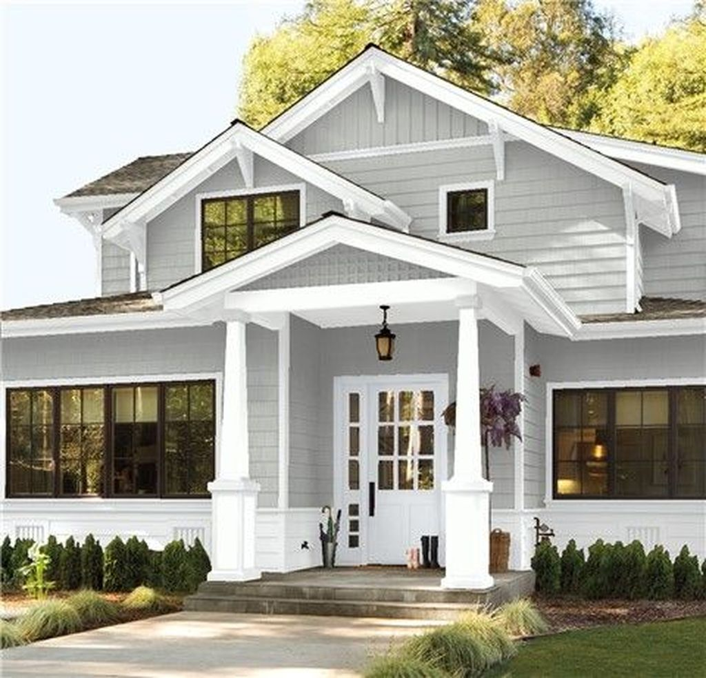Beautiful Farmhouse Exterior Paint Colors Ideas 03