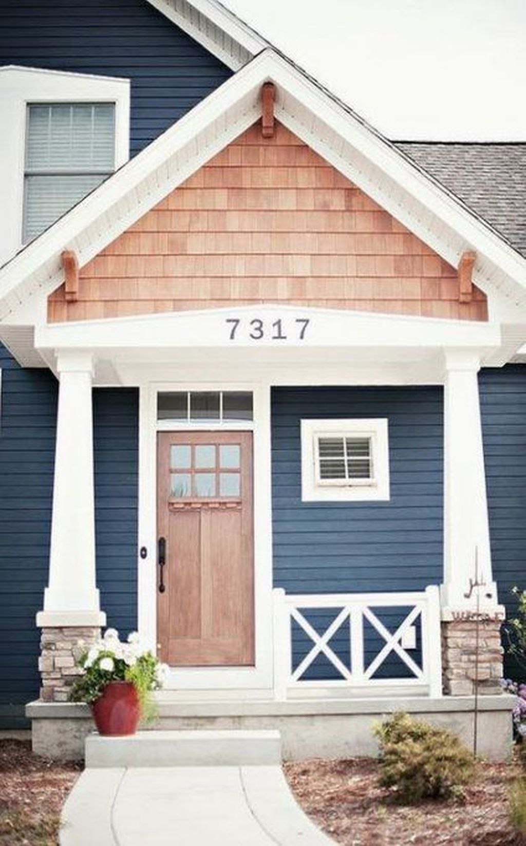 Beautiful Farmhouse Exterior Paint Colors Ideas 04