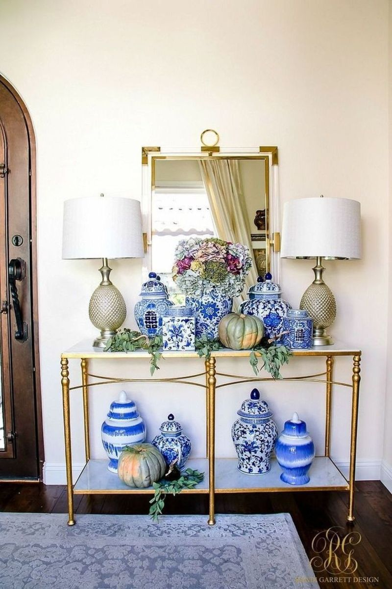 Beautiful Ginger Jars Decor Ideas For Living Rooms 33