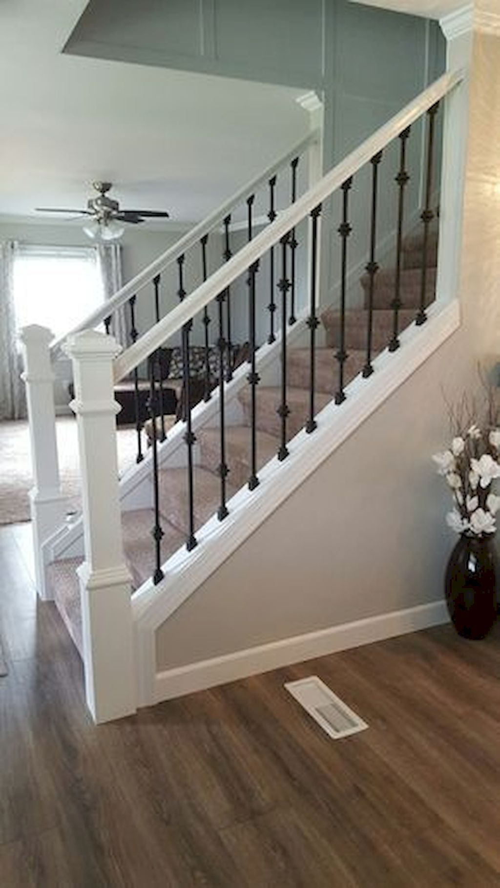 Brilliant Staircase Design Ideas To Beautify Your Interior 05