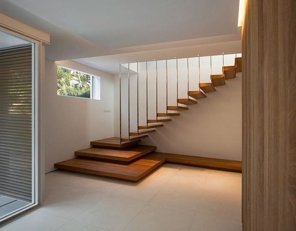 Brilliant Staircase Design Ideas To Beautify Your Interior 11