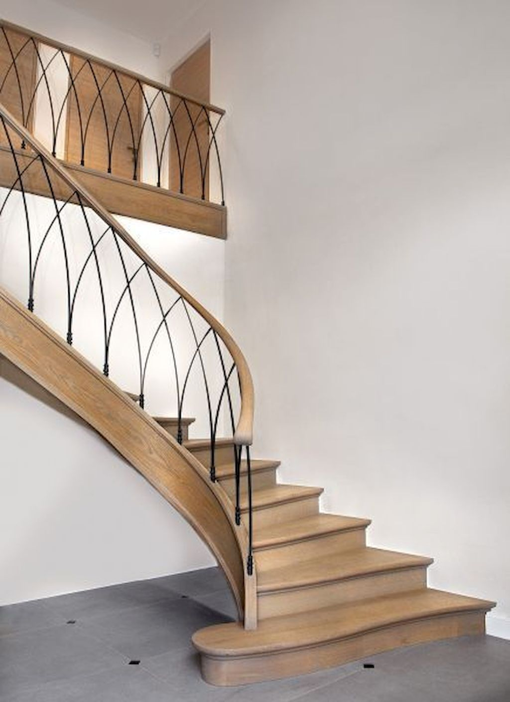 Brilliant Staircase Design Ideas To Beautify Your Interior 18
