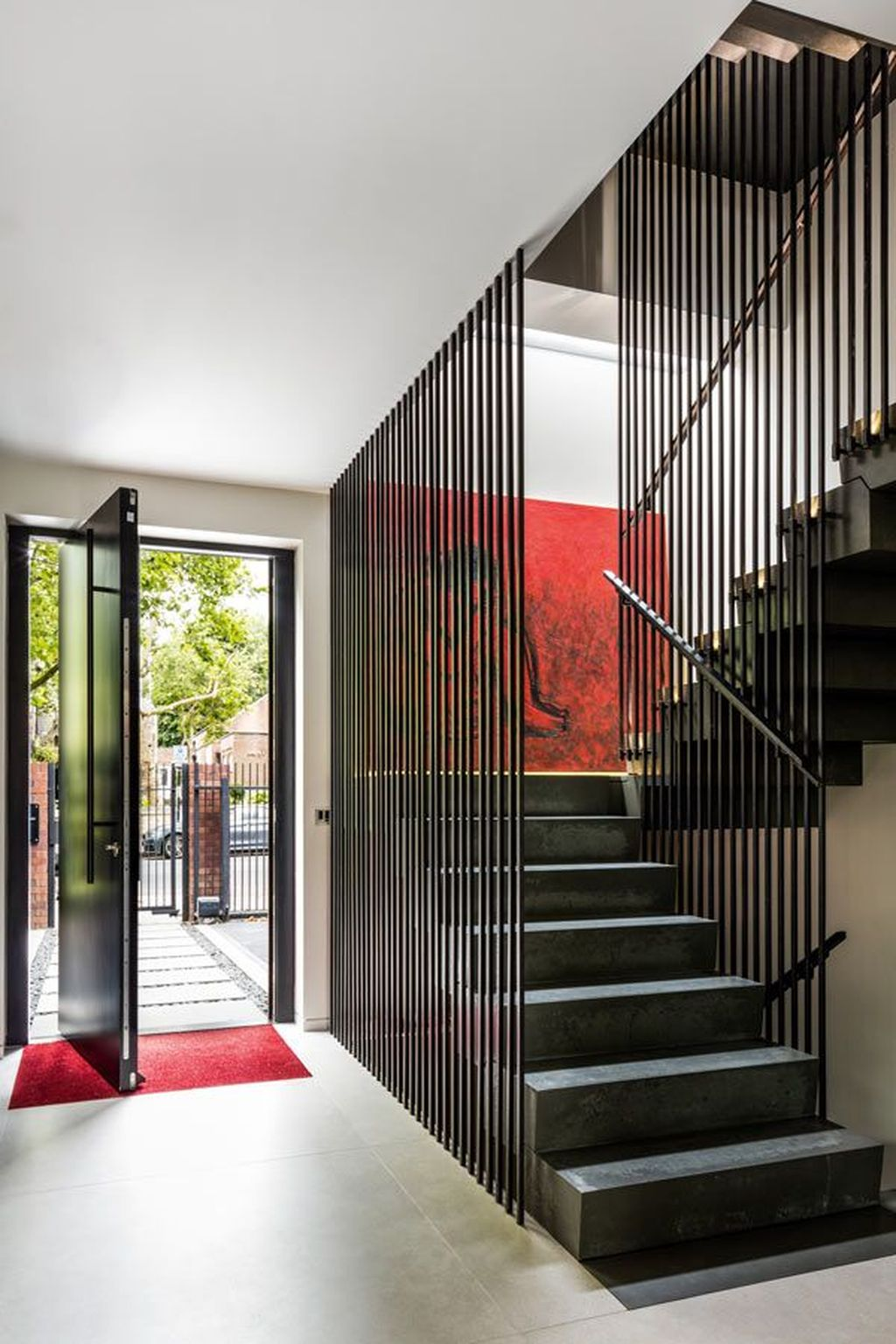Brilliant Staircase Design Ideas To Beautify Your Interior 20