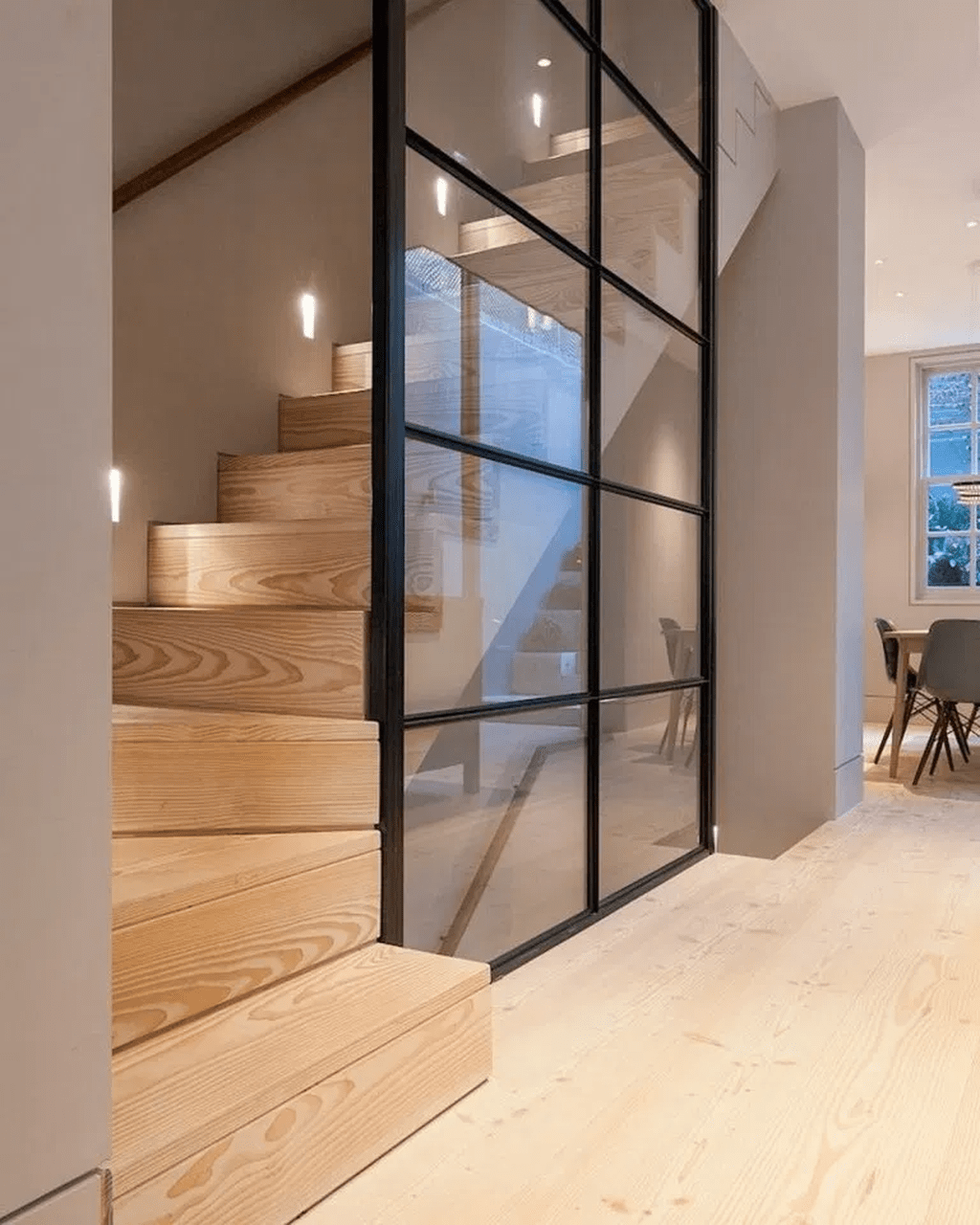 Brilliant Staircase Design Ideas To Beautify Your Interior 26