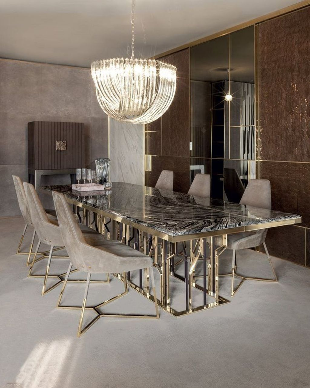 Fabulous Contemporary Dining Room Decorating Ideas 27