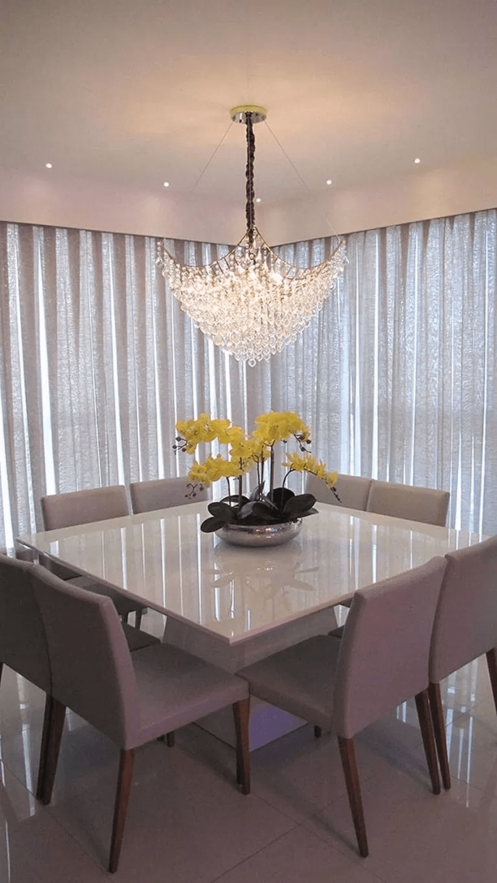 Fabulous Contemporary Dining Room Decorating Ideas 28