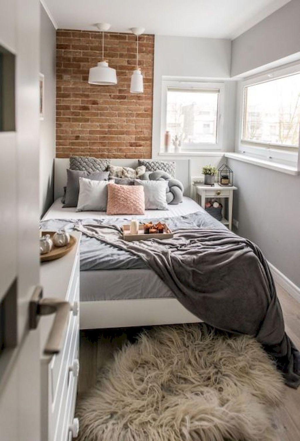 Fabulous Small Apartment Bedroom Design Ideas 02