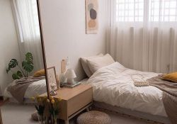 Fabulous Small Apartment Bedroom Design Ideas 06