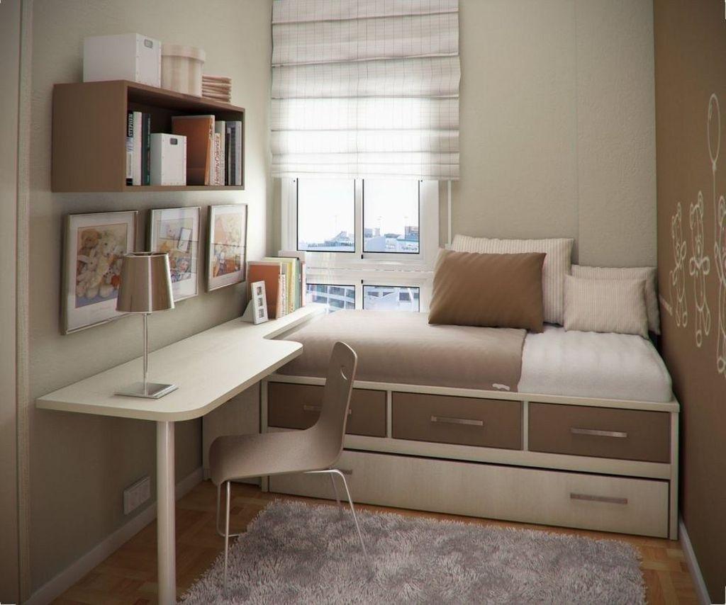 Fabulous Small Apartment Bedroom Design Ideas 07