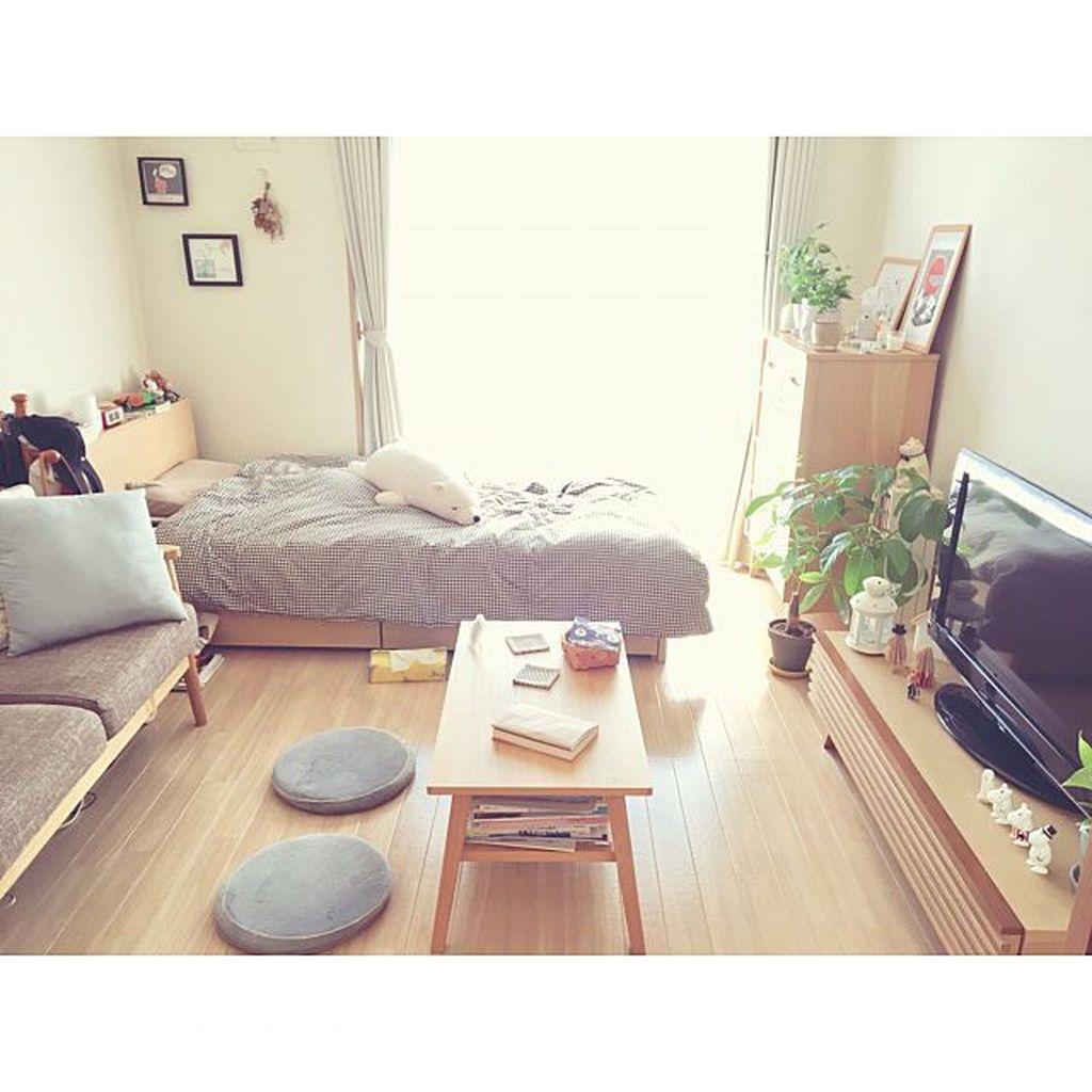 Fabulous Small Apartment Bedroom Design Ideas 17