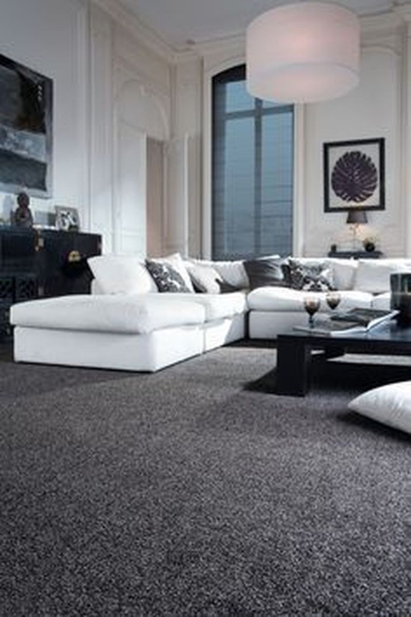 Fascinating Living Room With Carpet Decorating Ideas 24