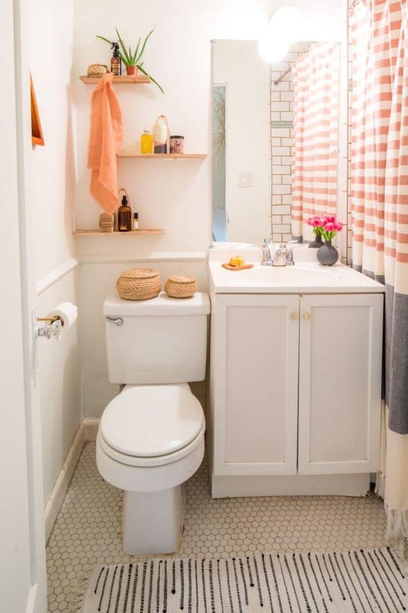 Fascinating Simple Apartment Bathroom Decor Ideas 01