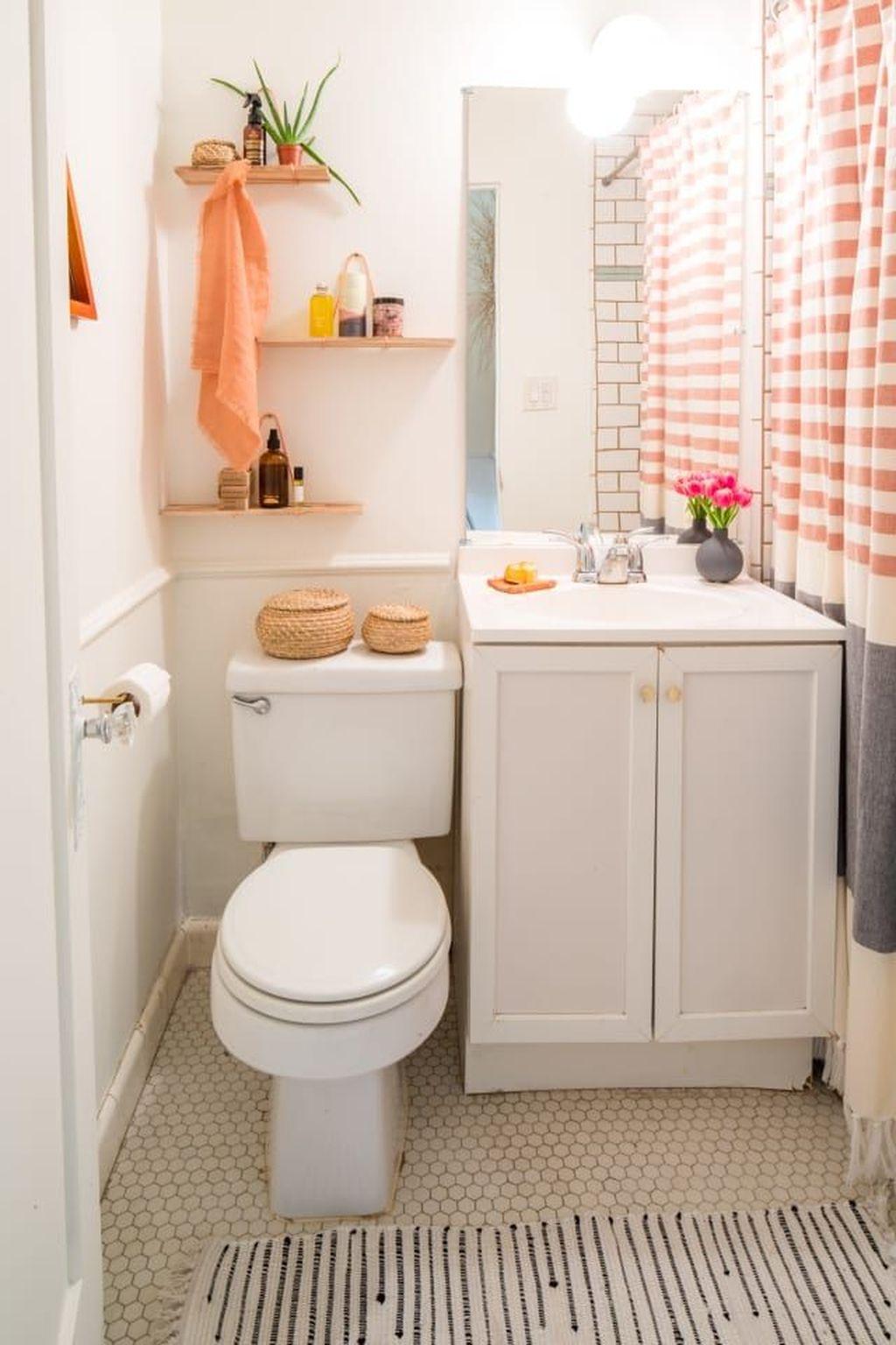 30 Fascinating Simple Apartment Bathroom Decor Ideas ... on Apartment Bathroom Ideas  id=89002