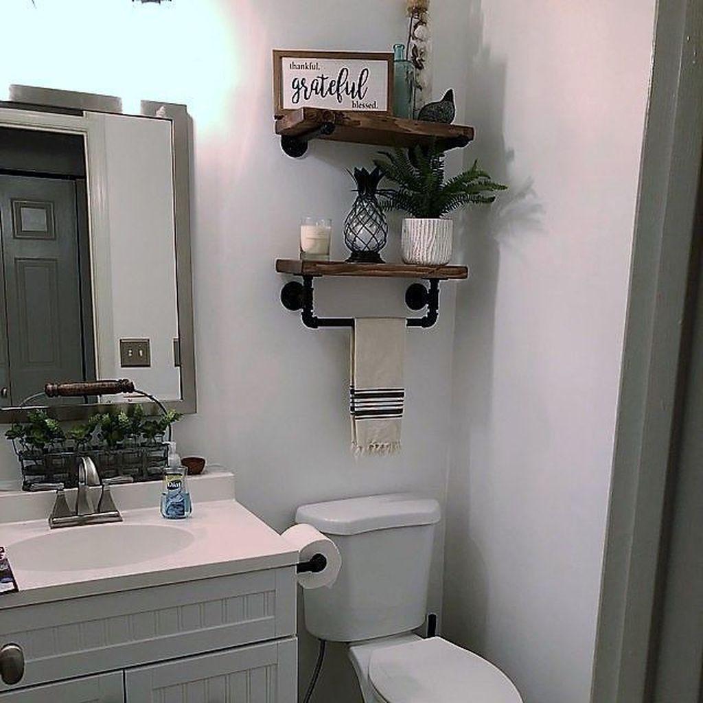 30 Fascinating Simple Apartment Bathroom Decor Ideas ... on Apartment Bathroom Ideas  id=43562