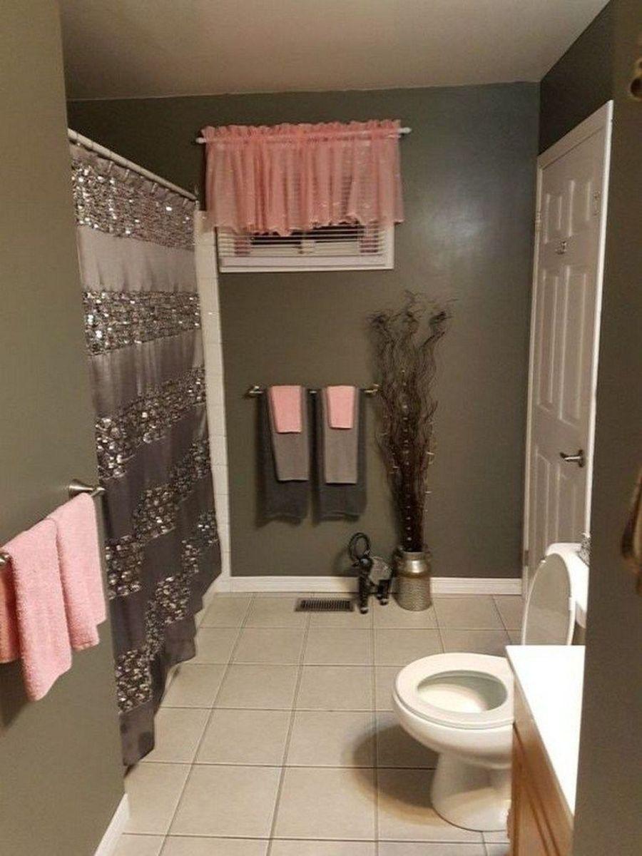 Fascinating Simple Apartment Bathroom Decor Ideas 09