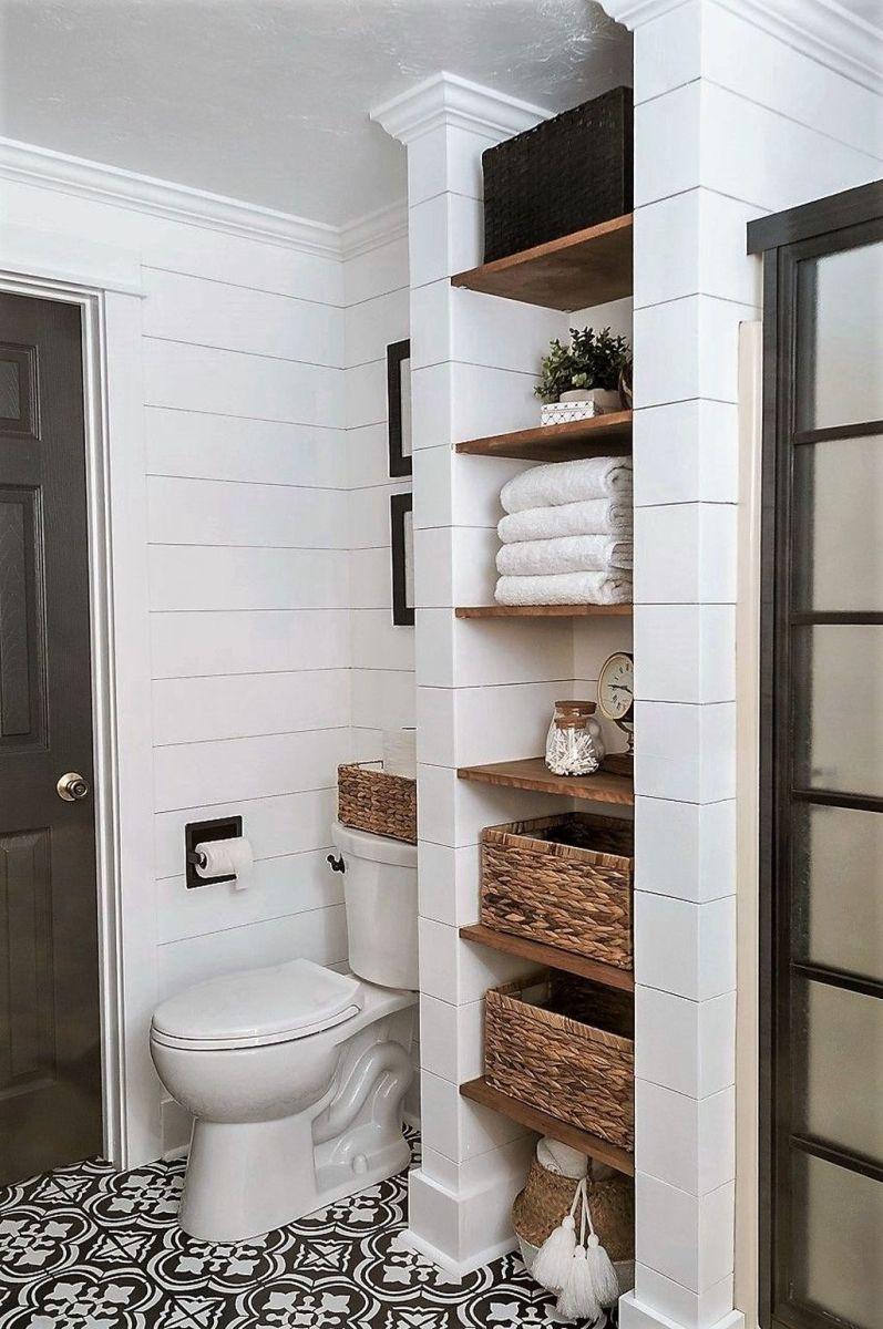 Fascinating Simple Apartment Bathroom Decor Ideas 10