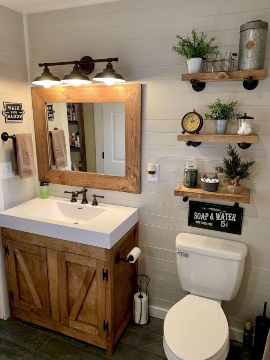 Fascinating Simple Apartment Bathroom Decor Ideas 18