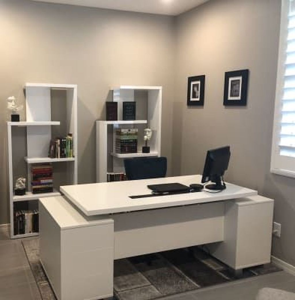 Gorgeous Modern Office Interior Design Ideas You Never Seen Before 30
