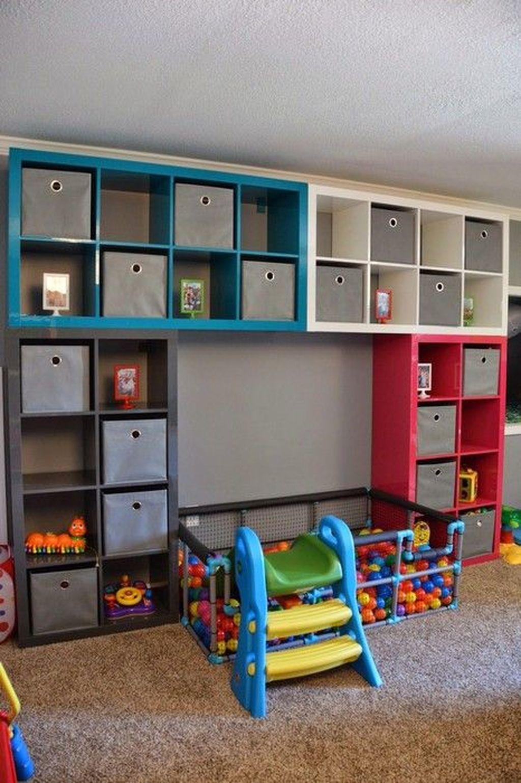 Inspiring Toy Storage Design Ideas 05