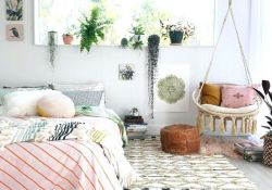 Lovely Boho Chic Bedroom Decor Idea 07