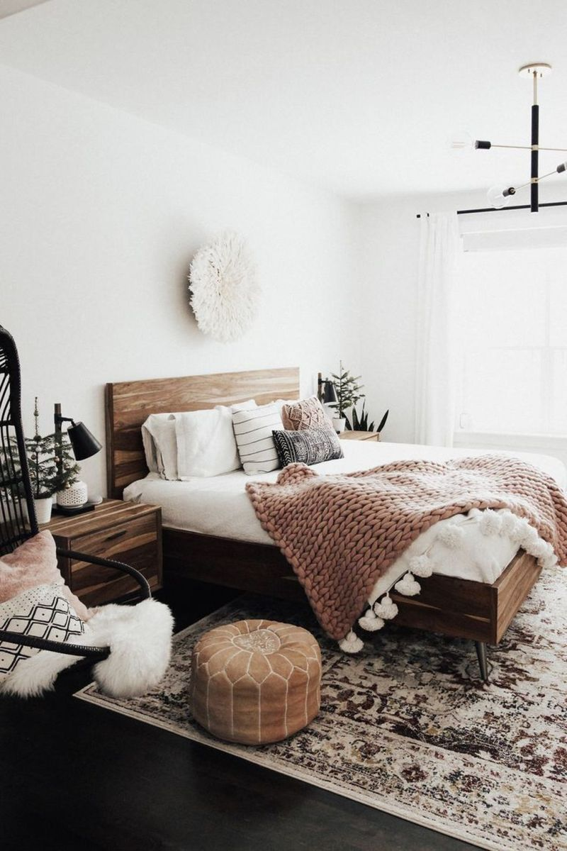 Lovely Boho Chic Bedroom Decor Idea 20