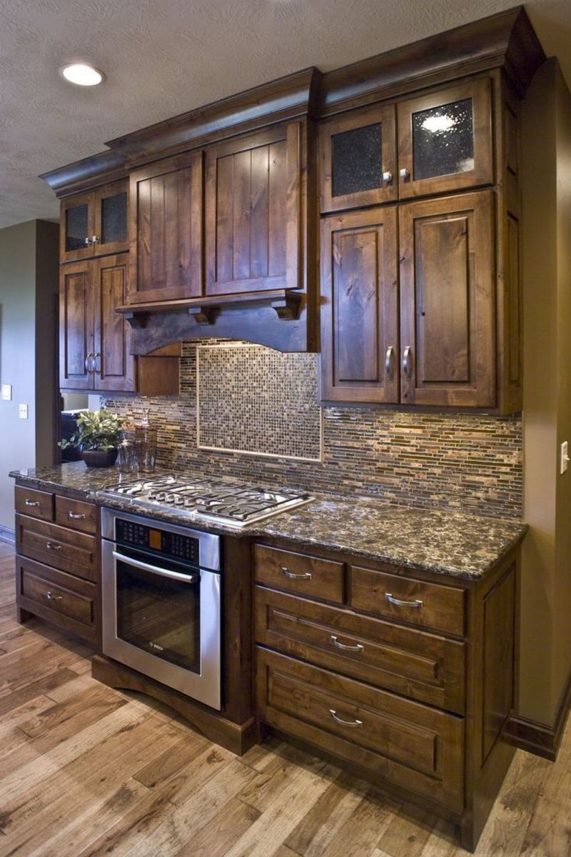 Nice Rustic Farmhouse Kitchen Cabinets Design Ideas 01