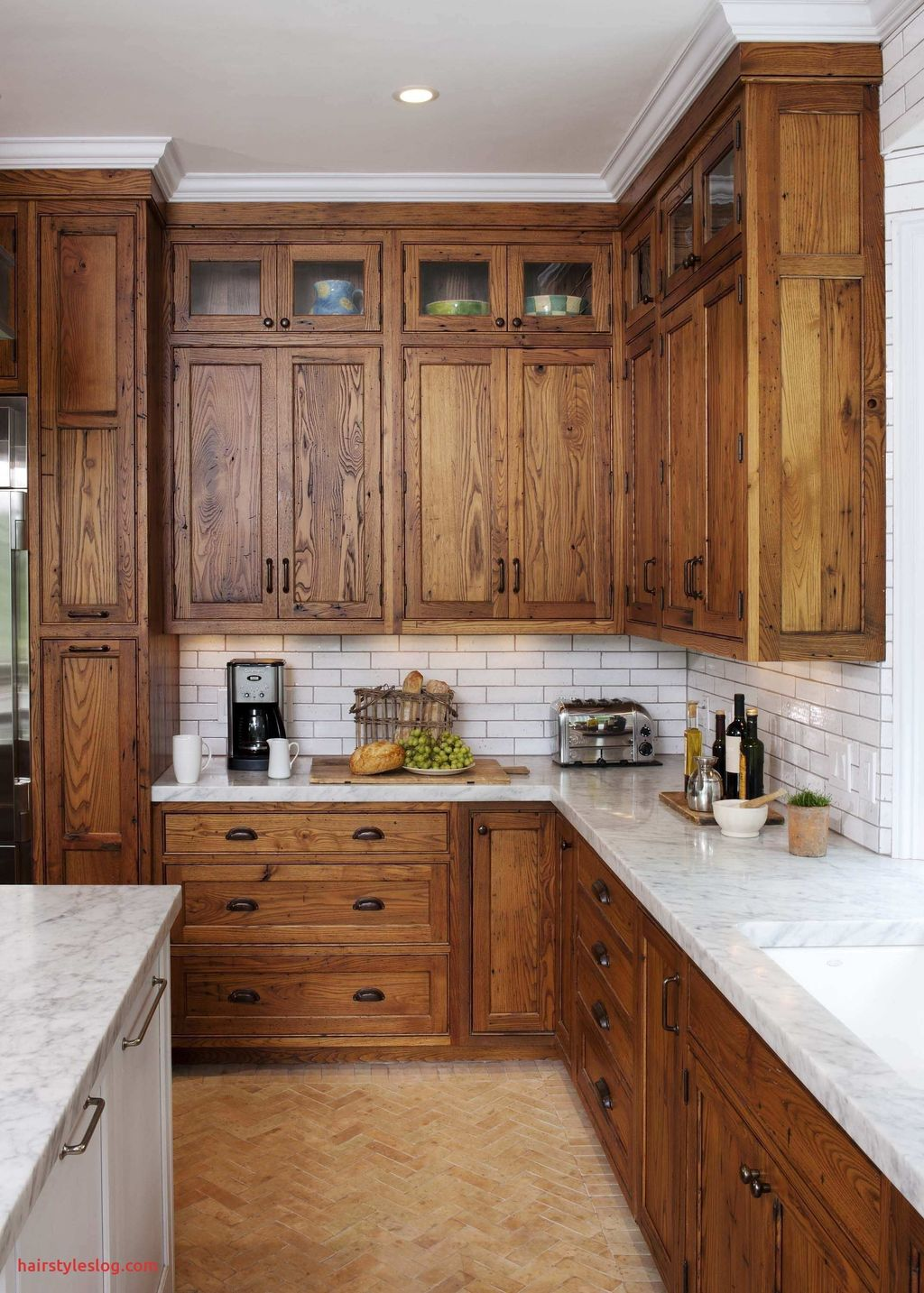 Nice Rustic Farmhouse Kitchen Cabinets Design Ideas 11