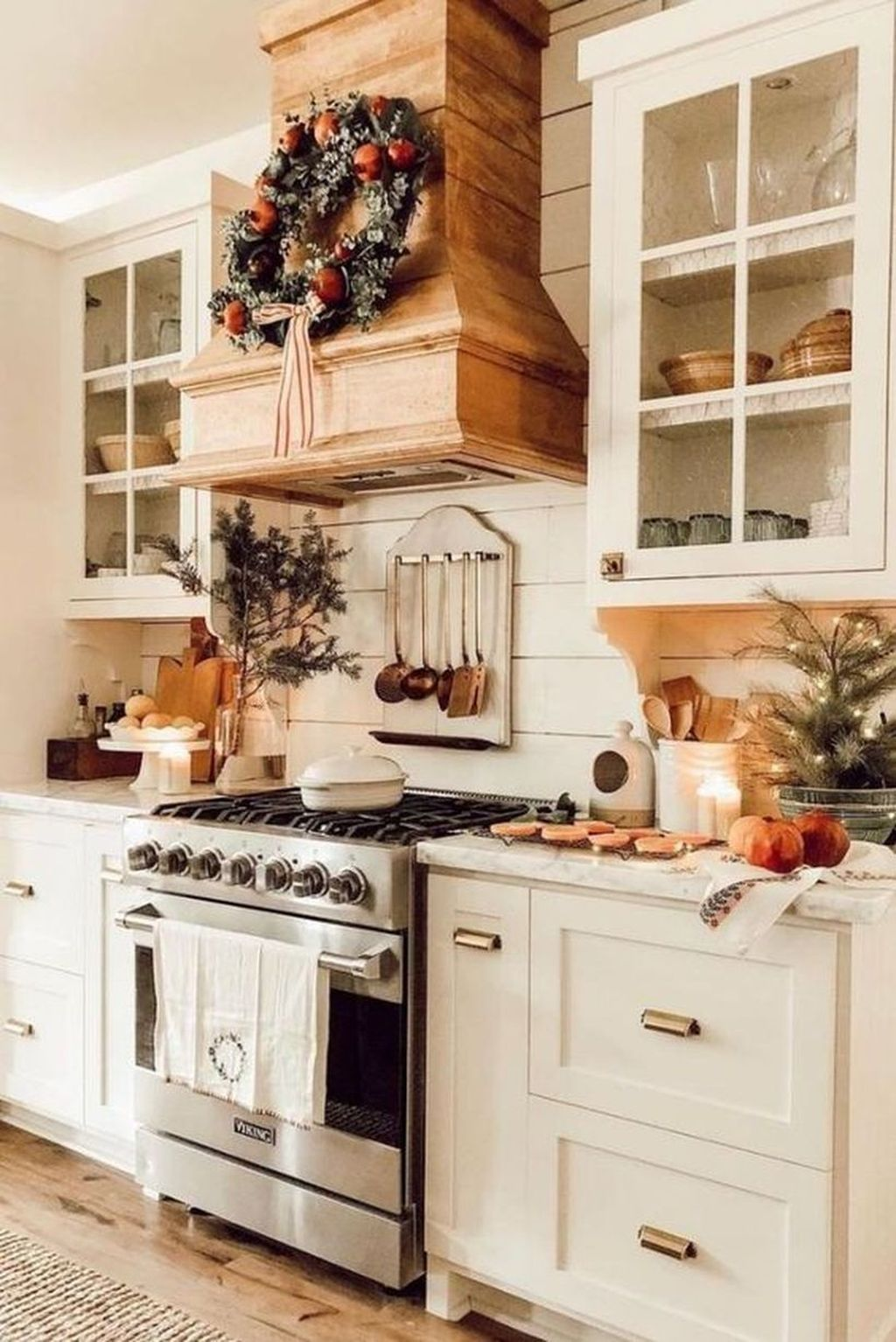Nice Rustic Farmhouse Kitchen Cabinets Design Ideas 17