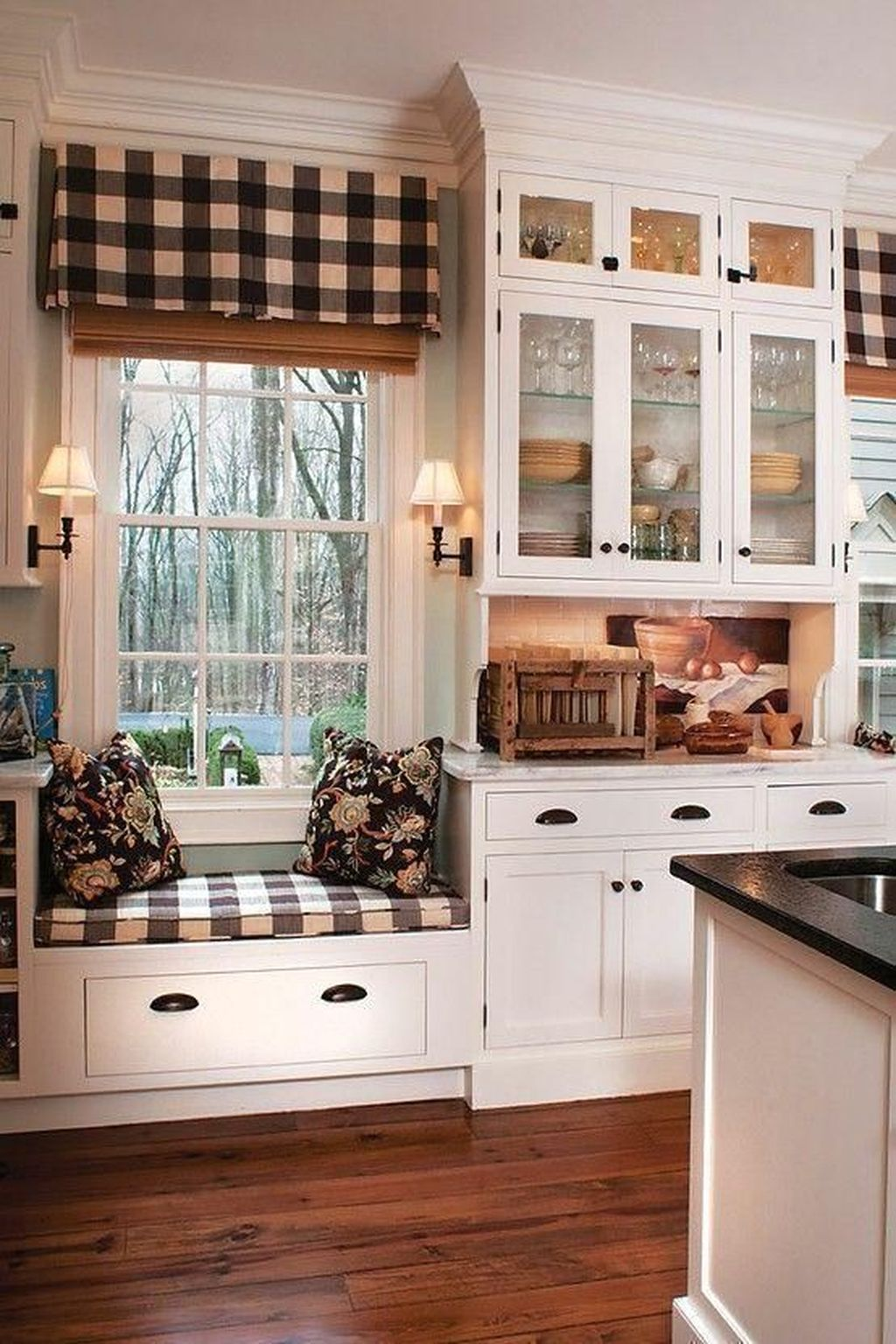 Nice Rustic Farmhouse Kitchen Cabinets Design Ideas 31