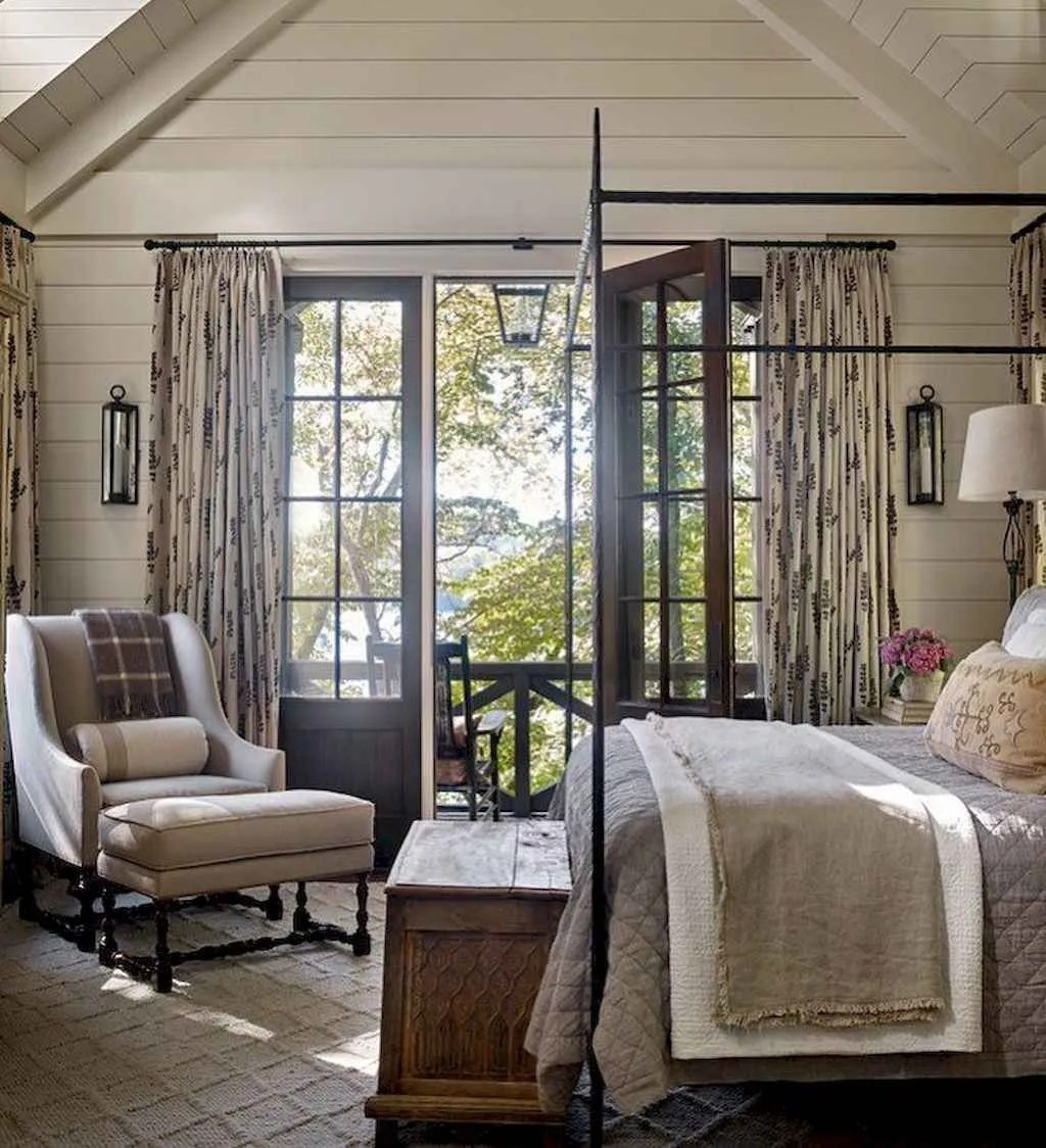 The Best Lake House Bedroom Design And Decor Ideas 16